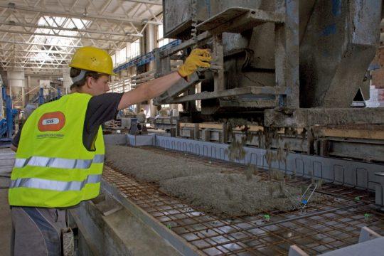 Holandsko praca stavebnictvo vyroba betonu